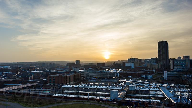 Sunset Over Sheffield
