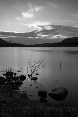 Torside Reservoir in Mono